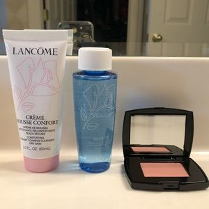 Lancôme skin care and blush